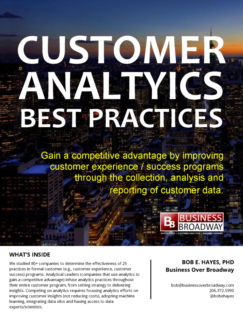 Customer Analytics Best Practices