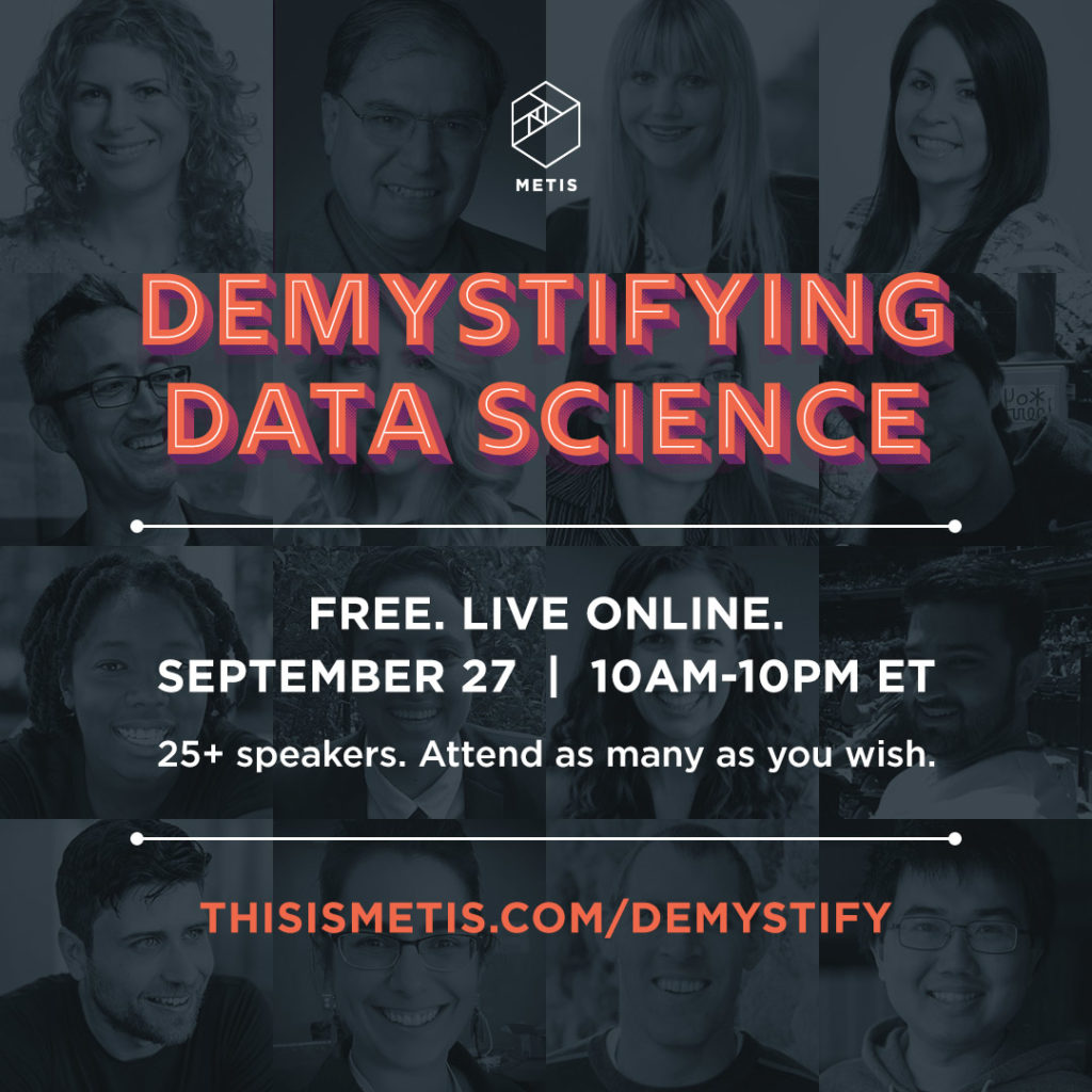Demystifying Data Science