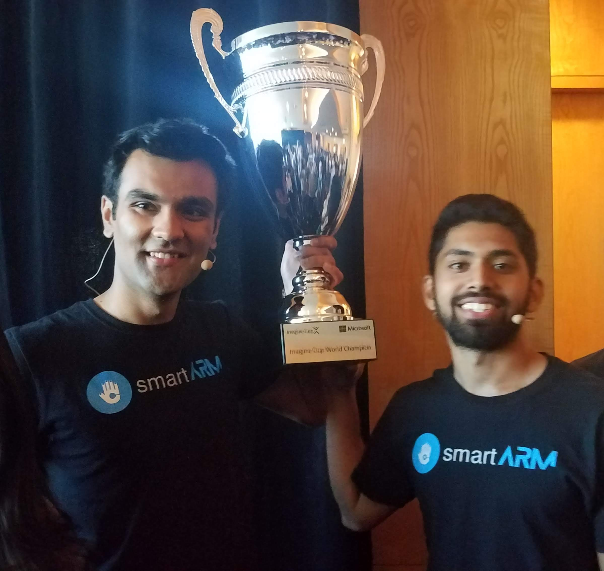 Microsoft Imagine Cup Winner: smartARM from Canada