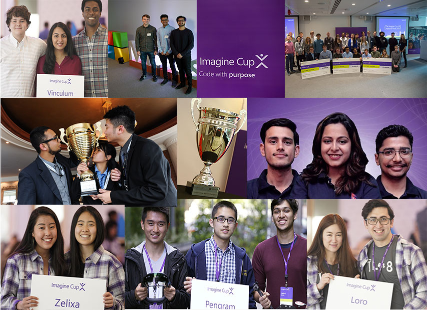 Microsoft's Imagine Cup 2018: Improving the World Through Innovation, Technology and Math