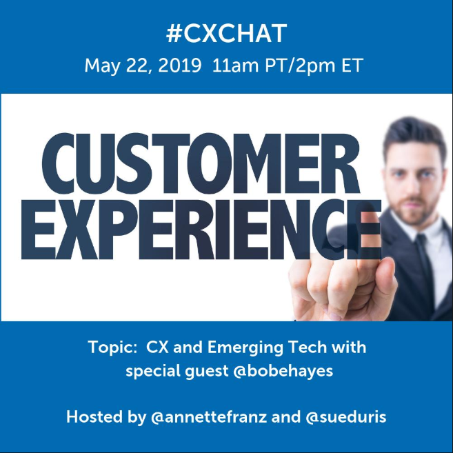 Customer Experience and Emerging Technologies: My CXChat Summary on Artificial Intelligence, Machine Learning and the Customer